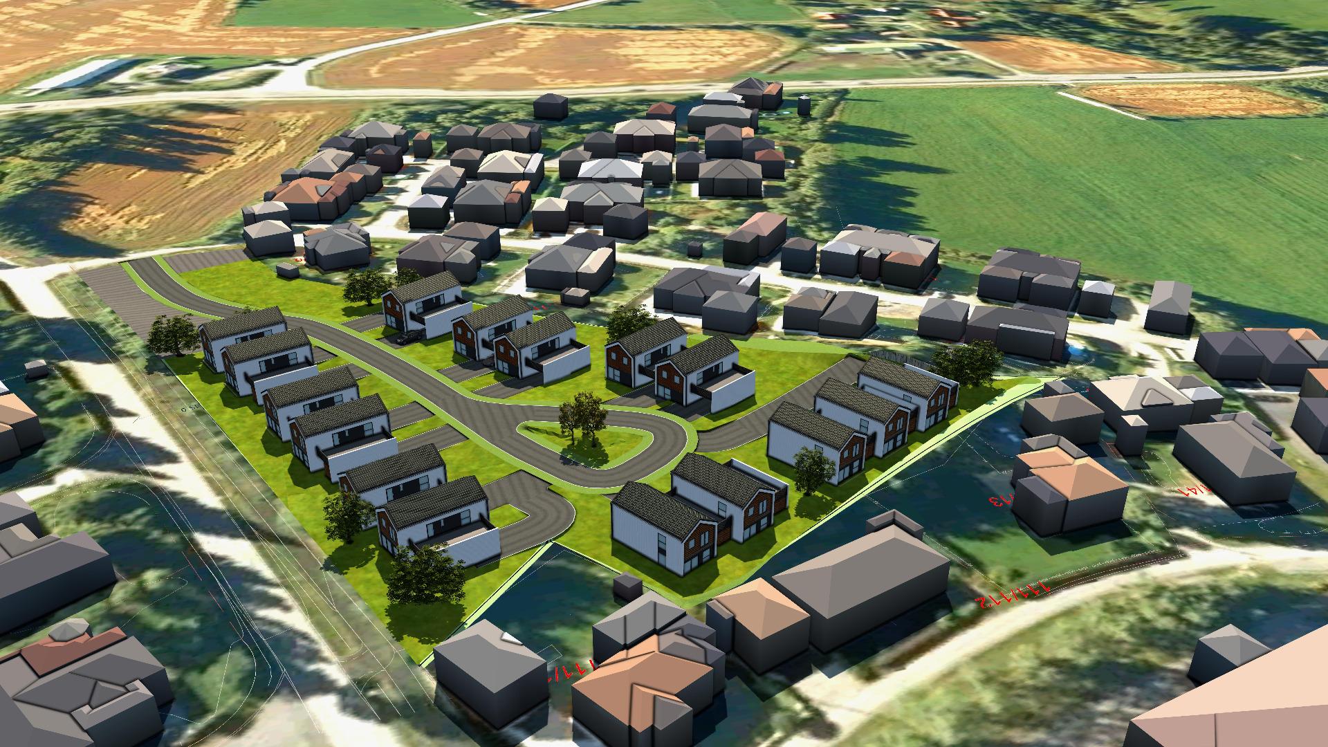 Regulering av boligområdet Algarheim