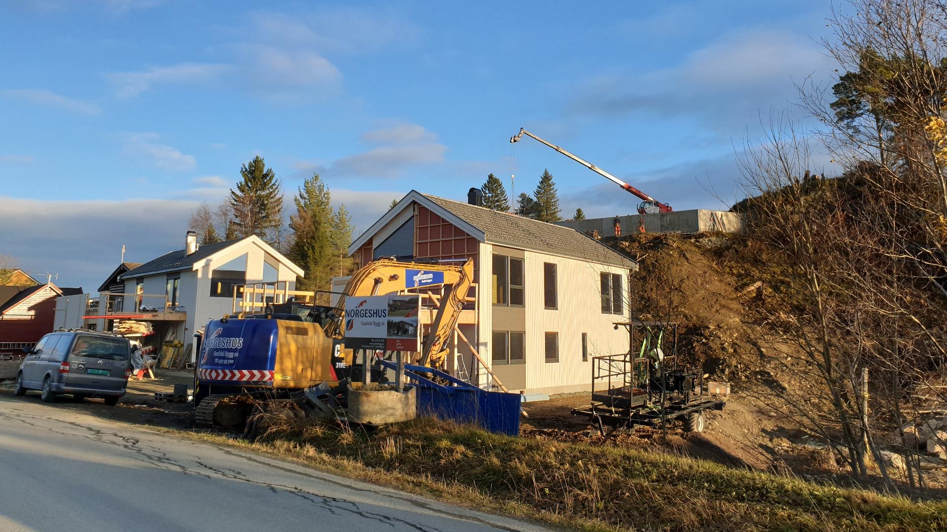 3 boliger under utførelse